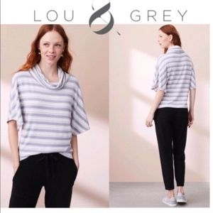 Lou & Grey Cowl Neck Dolman Sleeve Top